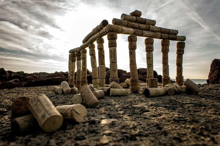 El templo de Baco