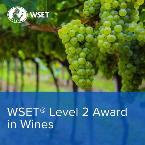 WSET 2 wines new